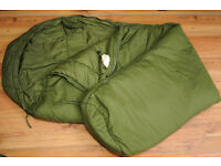 Snugpak Softie 15 Extreme Sleeping Bag (-20) Olive - USED Left HAnd