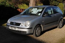 Much loved Silver VW Polo 1.2 for sale. Very low mileage and good condition. Recent MOT.
