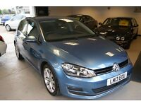 Volkswagen Golf GT TDi Bluemotion Technology Dsg 5dr (blue) 2013