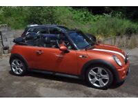Mini Cooper S Convertible Orange with Chilli Pack