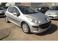 PEUGEOT 207 1.6 16V SE 5 DOOR PANORAMIC GLASS ROOF (silver) 2006