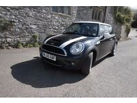 2007 Mini Cooper S in Astro Black with top spec leather interior