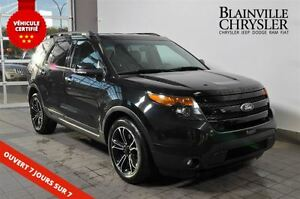 2013 Ford Explorer Sport-7 places-cuir