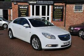 VAUXHALL INSIGNIA 2.0 EXCLUSIV CDTI 5d 128 BHP ONE OWNER FROM NEW (white) 2010