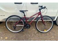 Ladies rockrider mountain bike 15'' frame 26'' wheels £65