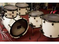 Mapex Saturn III – with Protection Racket cases