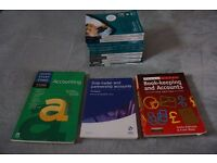 Accountancy Books ( Whole bundle for Level 2 and 3 plus some extra)