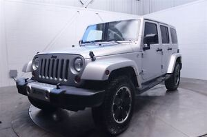 2012 Jeep WRANGLER UNLIMITED TRAIL RATED 4X4 A/C MAGS CUIR 2 TOI