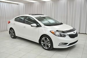 2016 Kia Forte SX SEDAN w/ BLUETOOTH, NAV, HTD/VENTILATED LEATHE