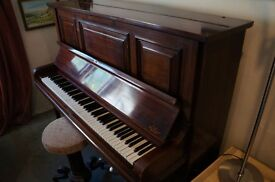 Beautiful Steinberg Upright Piano (Overstrung, Recently Tuned)