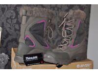 HI-TEC Winter Boots Thermo Dri Insulated UK 4 ( BOX )