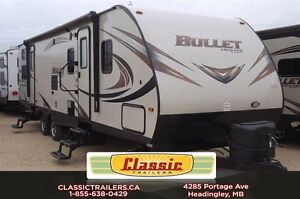 2016 Bullet 308BHS Great floorplan for the family looking to tra