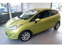 Ford Fiesta Zetec 3dr (green) 2010