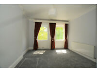 Large three double bedroom flat with reception, kitchen, bath and shower room