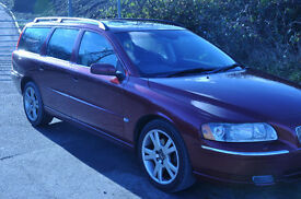 volvo v70e with winter pack