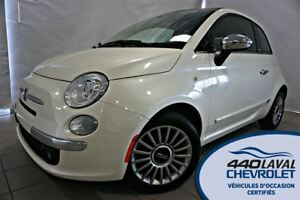 2012 Fiat 500C LOUNGE CONVERTIBLE AC BLUETOOTH