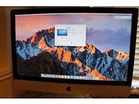 """iMac 27"""" 2011 i5 Quad Core 4GB Ram 1TB HD AMD HD 6970M Graphics"""