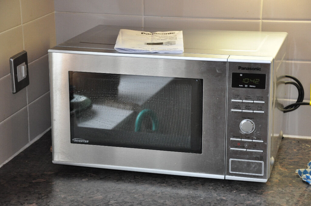 Old Microwave Oven ~ Panasonic nn sd s microwave oven stainless steel four