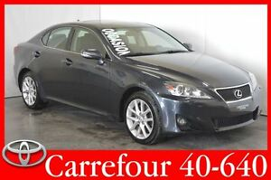 2011 Lexus IS 350 AWD Cuir+GPS+Toit+Camera de Recul