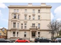 Earl's Court Square, SW5. Bright south facing two double bedroom garden square flat to rent,