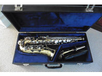 Alto Saxophone - Guban from 1980's, with case, good condition