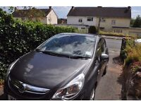 High spec, low mileage Vauxhall Corsa automatic with heated seats and heated steering wheel.