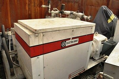 Gardner Denver Eaq50c Electra Saver Electic Air Compressor M19825 Year 87