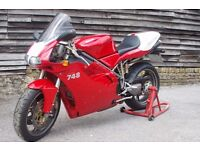 Ducati 748s - Low Mileage- MOT until June2018 - Just had a Full Service and Cam Belt change