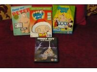Varried Family Guy DVDs
