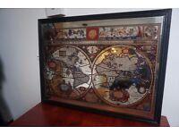 Mirror Wooden Atlas Picture