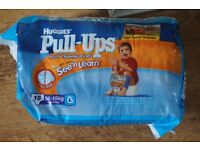 Nappies Huggies pull up training pants (large) 15 pack