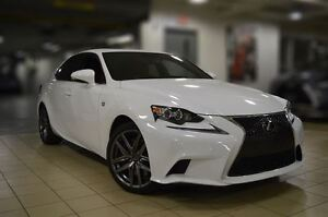 2016 Lexus IS 350 AWD, F-SPORT 3, NAV, CAMERA, RADAR CRUISE,1  O