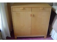 Ikea birch cupboards and drawers
