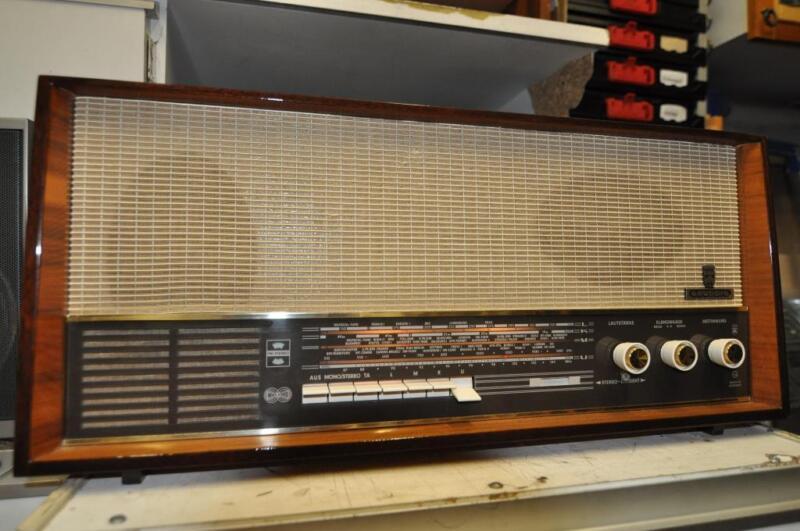grundig r hrenradio 4070 stereo in hessen wiesbaden radio receiver gebraucht kaufen ebay. Black Bedroom Furniture Sets. Home Design Ideas