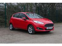 FORD FIESTA TDCi Zetec 5dr (race red) 2015