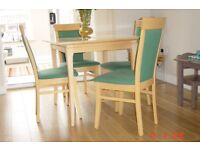 Parker Knoll dining table & chairs