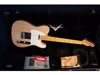 2013 Fender Custom Shop Custom Special Trans Ash Telecaster (DEMO VIDEO)