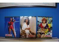 Three 007 Magazine Bond Girls