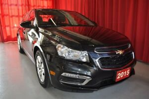 2015 Chevrolet Cruze LT Turbo - One Owner
