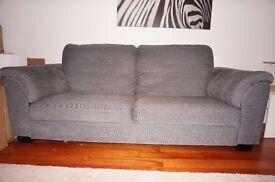 TIDAFORS Three - seat sofa - Hensta grey