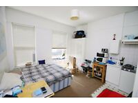 Includes Gas, Water And Heating. Double Studio Apartment, Self Contained, Communal Garden