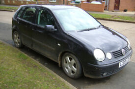 Volkswagen Polo 1.4 16v for sale- spares or repair
