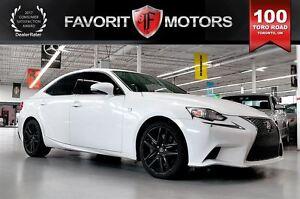 2014 Lexus IS 350 F SPORT AWD | RED LTHR | NAV | BACK CAM