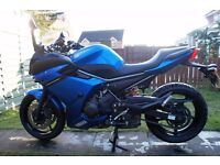 2010 YAMAHA XJ 6 F ABS DIVERSION BLUE LOW MILES FZ6 R6
