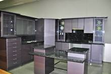 Ex- Display Polyurethane Metallic Purple Kitchen Bankstown Bankstown Area Preview
