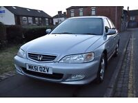 HONDA ACCORD 2.0 I VTEC SE 5DR PETROL (LOW MILEAGE, 1 OWNER, AUTOMATIC)