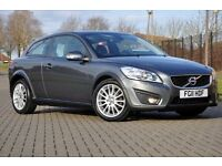 2011 Volvo C30 1.6 D DRIVe SE 2dr (start/stop)+FREE WARRANTY+LOW GENUINE MILEAGE+12 MONTHS MOT