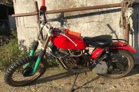 Kids 50cc pit bike/dirt bike italjet