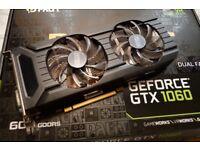 GTX 1060 6GB GDDR5 Dual Fan Palit Graphics Card