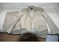 Boys Linen Suit from Next size 14yrs 164cms wedding party